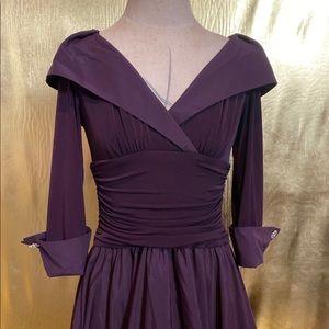 Jessica Howard dress with rhinestone cuff links